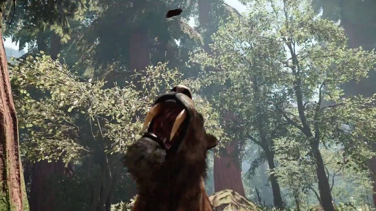 Far Cry Primal Taming Petting Using Animals To Kill Youtube