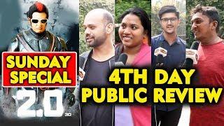 2.0 Movie PUBLIC REVIEW | 4th DAY SUNDAY SPECIAL | Rajnikanth | Akshay Kumar