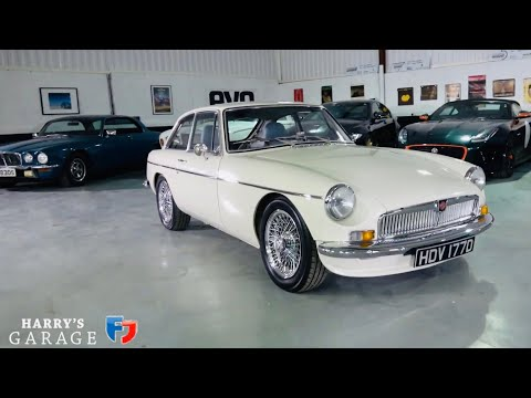1966 MGB GT LE, Review Of This Ultra Rare MG Performance Car(video First Published On 1st April..)