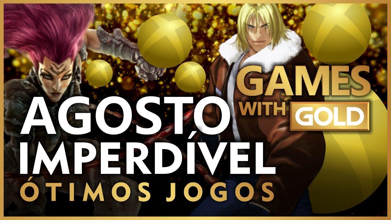 BOMBA! ÓTIMOS JOGOS nos GAMES WITH GOLD de AGOSTO! REVELAÇÃO OFICIAL!
