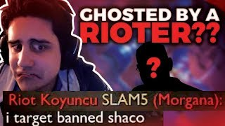 GHOSTED BY A RIOTER???