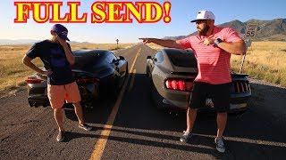 2020 Supra races Shelby Mustang GT350! Ft. Stradman