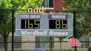 The Wordball Games (The Electric Company, Summer Learning)