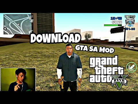 Tutorial cara Download GTA V Di Hp Android!! - YouTube