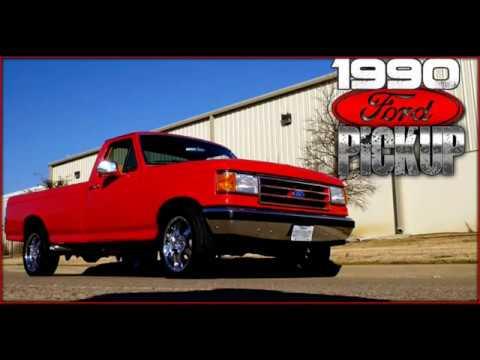 1990 Ford F150 Lariat Xlt Pickup Youtube