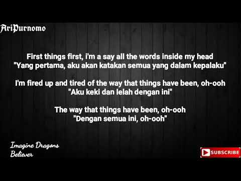 Imagine Dragons - Believer Lirik Dan Terjemahan