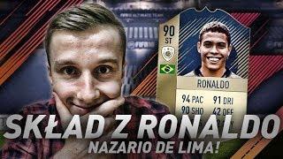 FIFA 18 l SKŁAD z RONALDO NAZARIO de LIMA! 5 MILONÓW COINSÓW! FIFA ULTIMATE TEAM!