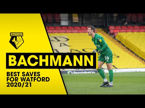 DANIEL BACHMANN   AUSTRIA NO.1's BEST SAVES FOR WATFORD 2020/21