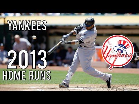 New York Yankees | 2013 Home Runs (144)