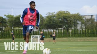 The Youngest Player Starting in MLS: The 16 Project