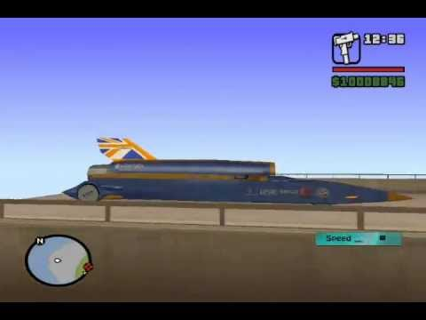 Bloodhound SSC Record on GTA SA