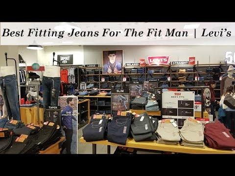 Best Fitting Jeans For Fit Men | Levi's