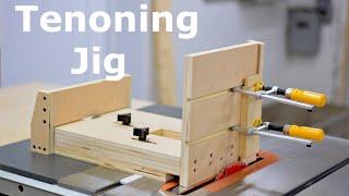 Shopbuilt - Self positioning tenoning jig