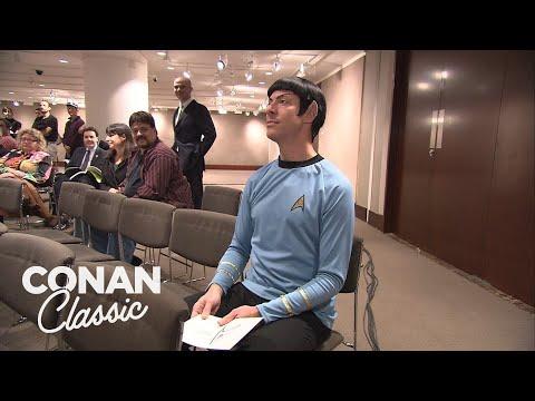 """Conan Sends Spock To A """"Star Trek"""" Auction - Conan25: The Remotes"""