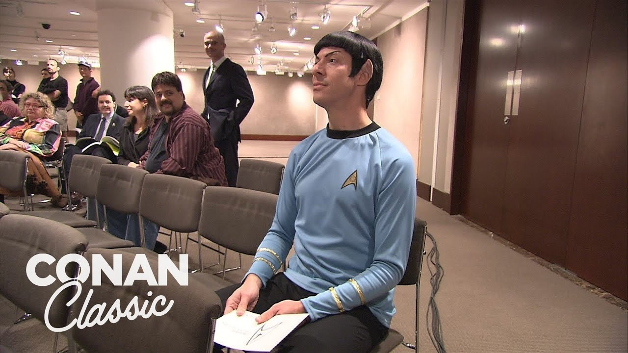 """Download Conan Sends Spock To A """"Star Trek"""" Auction   Late Night with Conan O'Brien"""