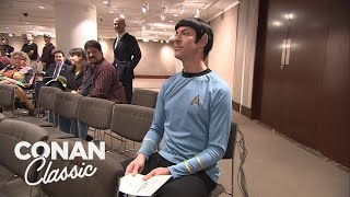 "Conan Sends Spock To A ""Star Trek"" Auction - Conan25: The Remotes"