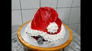 НОВОГОДНИЙ ТОРТ ШАПКА ДЕДА МОРОЗА САНТЫ от SWEET BEAUTY СЛАДКАЯ КРАСОТА Christmas Cake