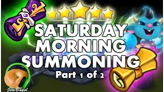 SUMMONERS WAR : Saturday Morning Summons - 150+ Mystical Scrolls + More! (part 1 of 2)