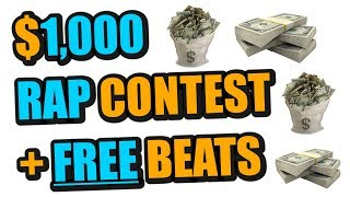 Free Beats + $1,000 Song Contest (100% FREE ENTRY)