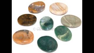 Wholesale Worry Stone : Gemstone Worry Stones : Thumb Stones : Plam Stones