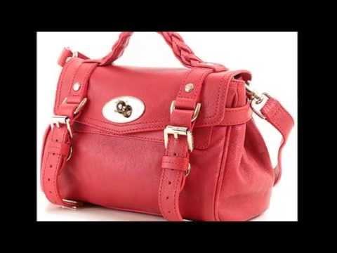 Женские сумки на девушке фото