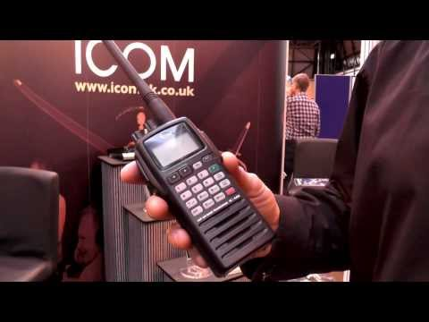 Icom IC-A6E/ A24E VHF Airband Transceivers now with 25 kHz/8.33 kHz Dual Channel Spacing!