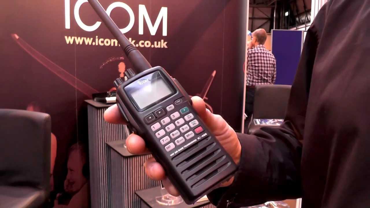 5a419f7d674 Icom IC-A6E  A24E VHF Airband Transceivers now with 25 kHz 8.33 kHz ...