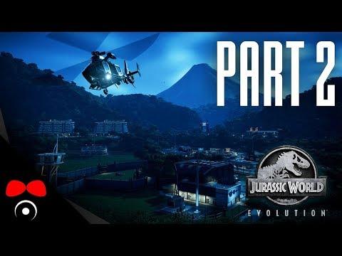 PRVNÍ MASOŽRAVEC! | Jurassic World: Evolution #2