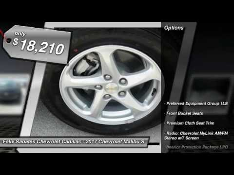 2017 Chevrolet Malibu Homestead FL HF249504