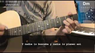 """Cómo tocar """"Amor del bueno"""" de Reyli en Guitarra (HD) Tutorial - Christianvib"""