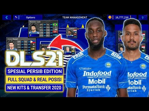 Make new kits and logo of Persib Team for Dream League Soccer 2020 In this video, you can get a URL .