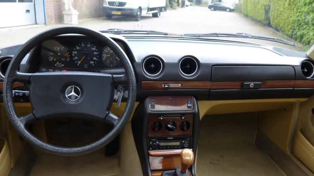 Mercedes Benz 200 280 W123 230 E YouTube
