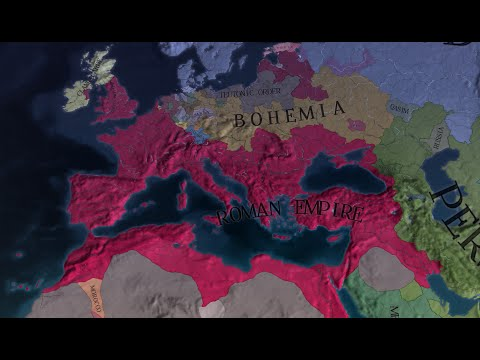 EU4 - Timelapse - Forming the Roman Empire as France