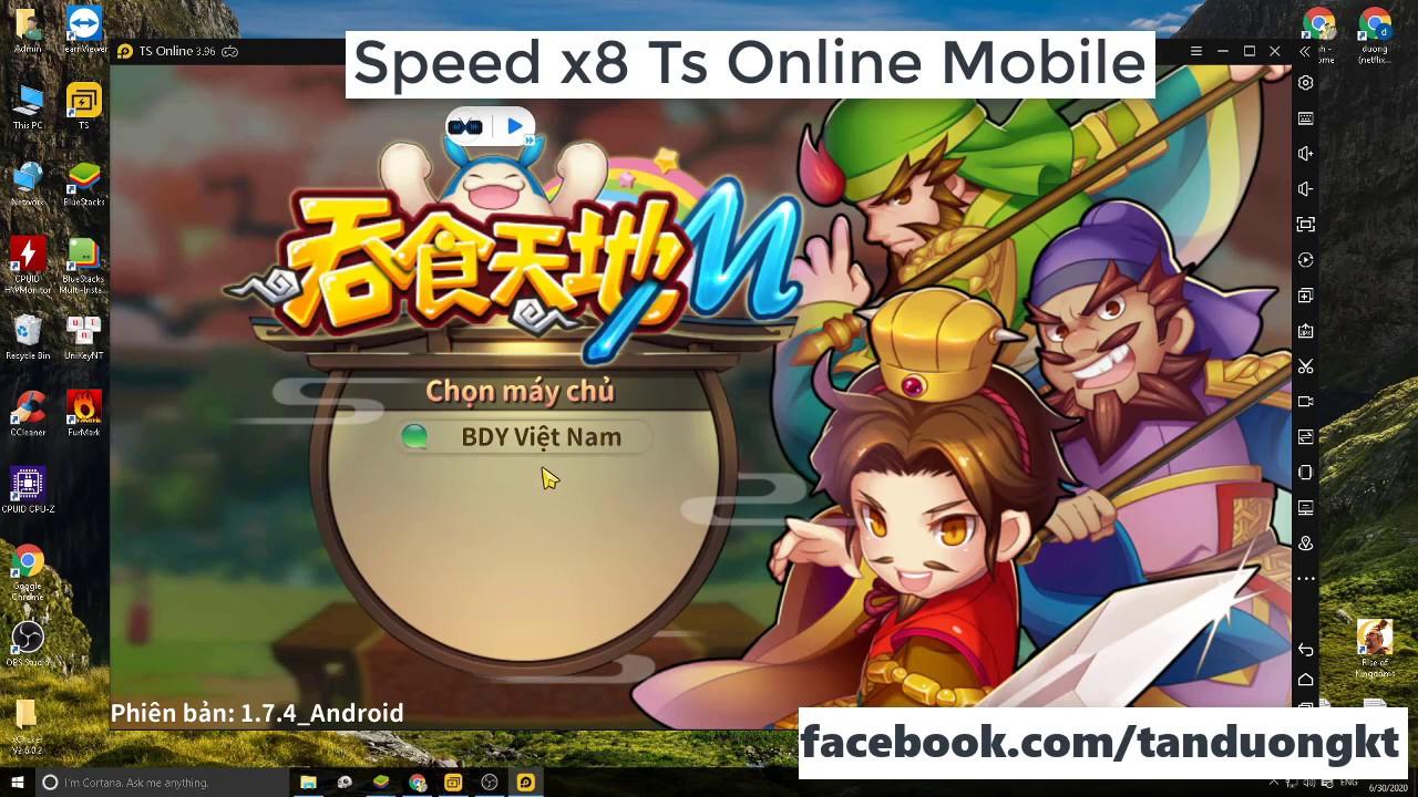 Speed x8 cho giả lập và android -  TS Online Mobile