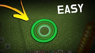 How to make Custom CIRCLES in Minecraft PE 1.5.3 with commands