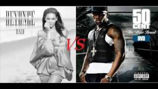 Download 50 Cent vs Beyonce - Wanksta Halo (DJ AlePM Mash-Up).wmv MP3 song and Music Video