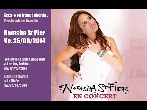 Natasha St Pier au W:Hall - 26/09/2014