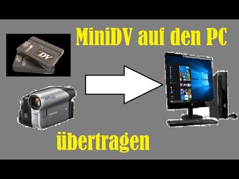 MiniDV Kasetten digitalisieren