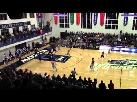 Luis Garcia Marietta College Mens Basketball highlights 2015-16