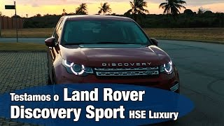Land Rover Discovery Sport HSE Luxury   Test Drive   Review  motoreseacao