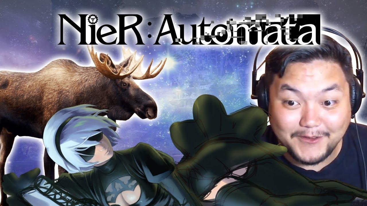 Nier: Automata (2) - Оооо, Ноооооүүү