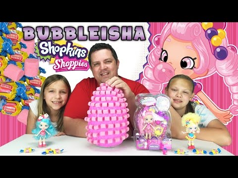 Giant Food Surprise Egg - Shopkins Shoppies Dolls - Bubbleisha