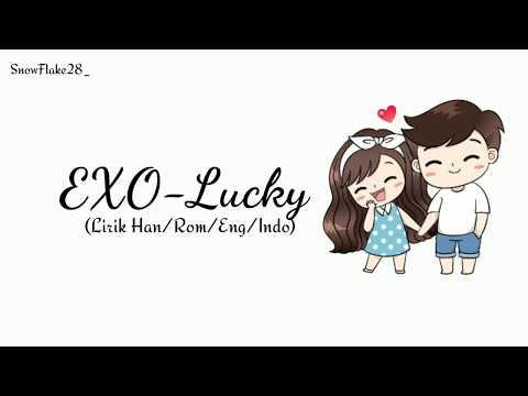 EXO (엑소)-Lucky 'Sub INDO'  [Lyrics Color Coded Rom/Ing/Han/ina] | Lirik Indonesia