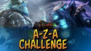 Dota 2 A-Z-A Challenge - Abaddon & Zeus