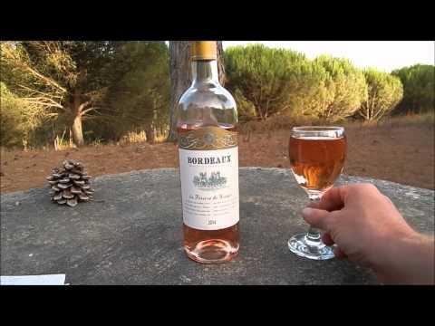 Розовое Вино Бордо (Bordeaux) из Франции