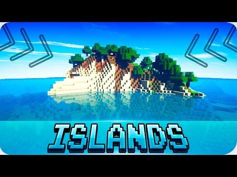 Minecraft Seeds - TOP 5 SURVIVAL ISLAND SEEDS! Works in 1.12 / 1.11 Minecraft