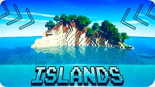 Minecraft Seeds - TOP 5 SURVIVAL ISLAND SEEDS! Works in 1.12 / 1.11 Minecraft