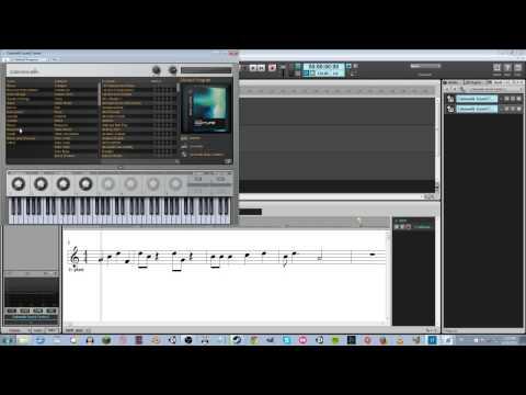 Music Creator 7 midi composition workflow