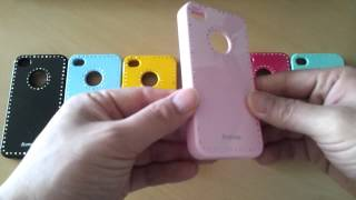 iPhone 4S/4G Soft jelly cubic …