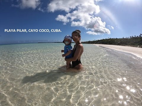 Playa Pilar, Cayo Coco, Cuba. Hotel Iberostar Playa Pilar. Filmed With GoPro Hero 7 Black.
